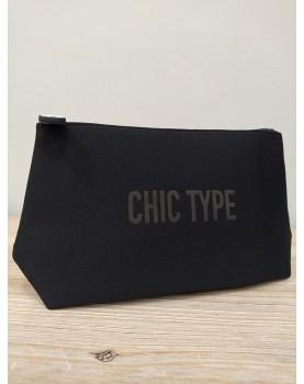 Pochette noire Chic Type