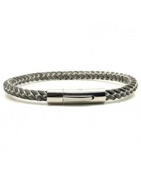 Bracelet Tressé acier et...