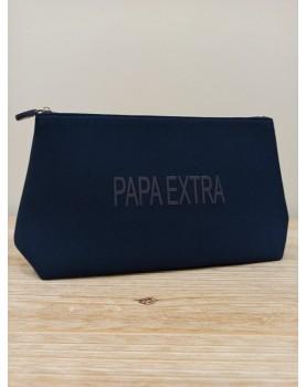 Pochette bleue marine Papa...