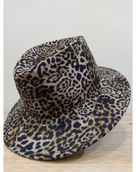 Chapeau léopard Romy