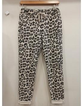 Pantalon sportwear léopard...