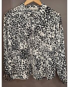 Chemise imprimé léopard Tania