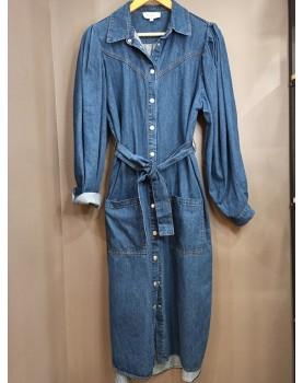 Robe en jean Brigitte